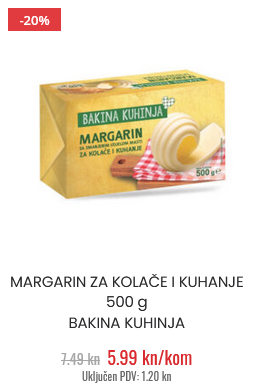 margarin za kolače bakina kuhinja