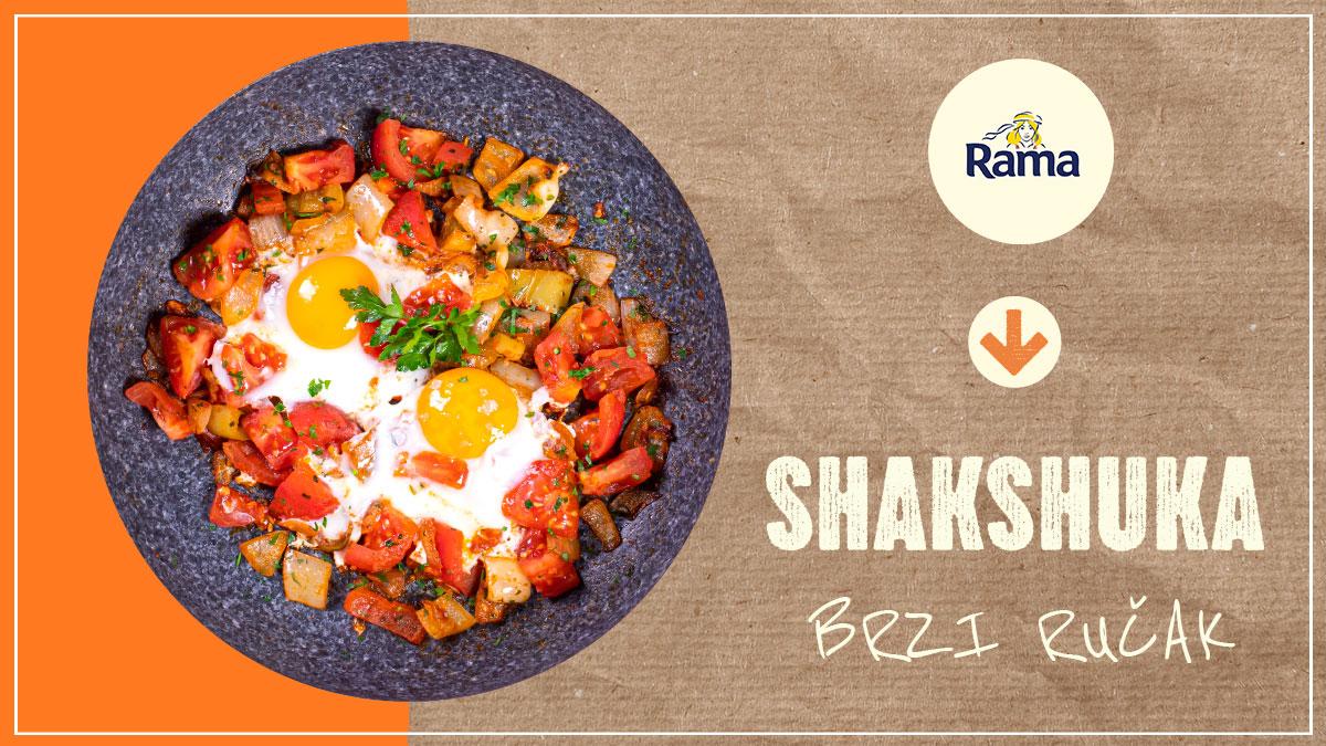 Trenutci kuhanja s Ramom! Shakshuka – brzi ručak s povrćem i jajima
