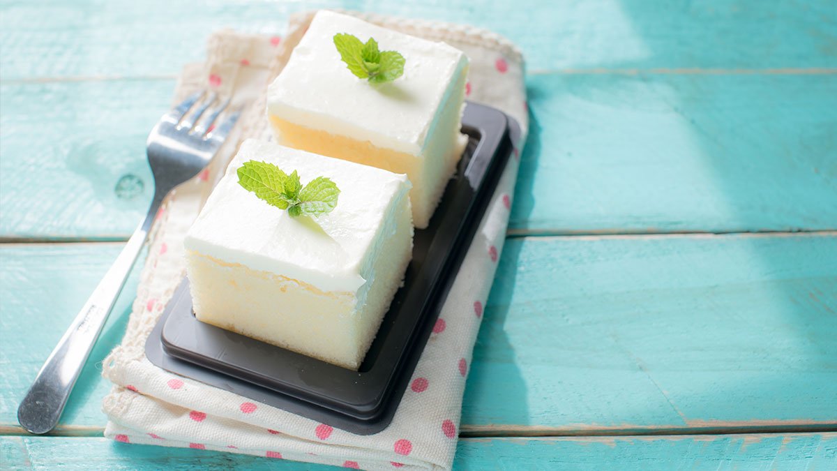 Kremasti kolač Ledeno nebo uz MEGGLE Creme Patisserie